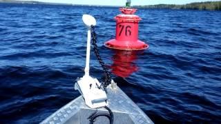 MotorGuide Xi5-55 SW 54 12 V GPS испытания на воде