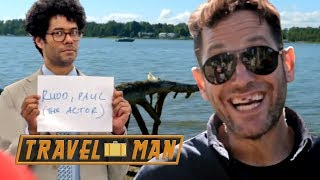 Richard Ayoade & Paul Rudd's 48hrs  in Helsinki - the FULL episode | Travel Man