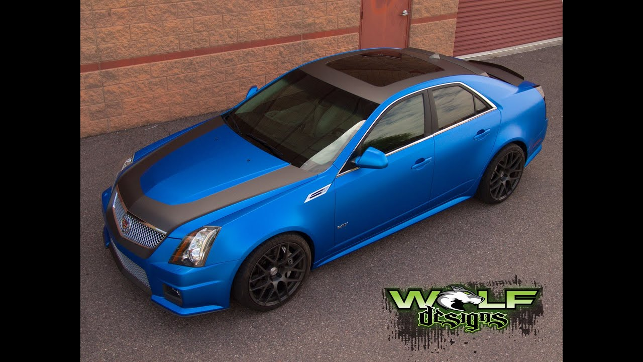 Wolf Designs Ctsv Vinyl Wrap Youtube