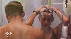 Sinnliche Dusche zu zweit: Wer duscht mit wem?   Big Brother   SAT.1