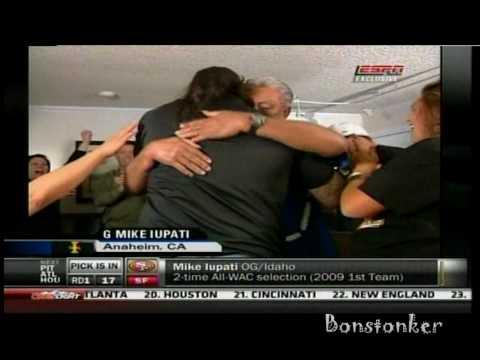 49ers select Mike Iupati