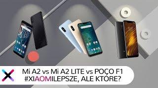 Pocophone F1, Xiaomi Mi A2 i Mi A2 Lite | Który okazał się lepszy?