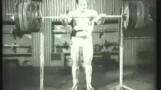Old School Strength Training