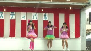 20160716 ニイガタパフォーマンススクール(N.P.S)  JA越後おぢや片貝支所サマーフェスティバル2016