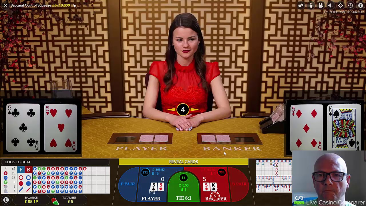 Evolution Live Baccarat Review A Review Of All Live Baccarat