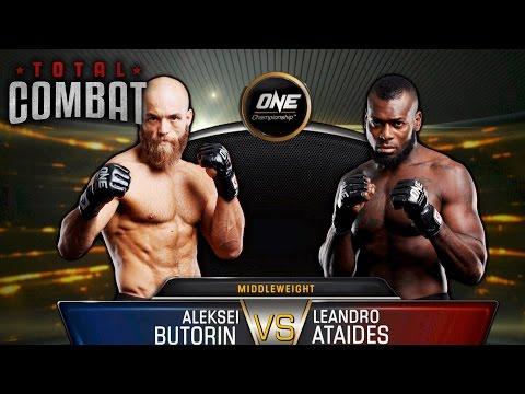 Total Combat | Aleksei Butorin vs Leandro Ataides | Full Fight Replay