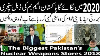 Video Indian Media Crying On Biggest Pakistan's Nuclear Weapons Stores 2018 download MP3, 3GP, MP4, WEBM, AVI, FLV November 2018