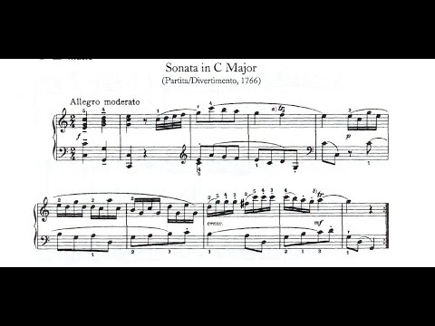Franz Joseph Haydn Piano Sonata No 7 in C Major