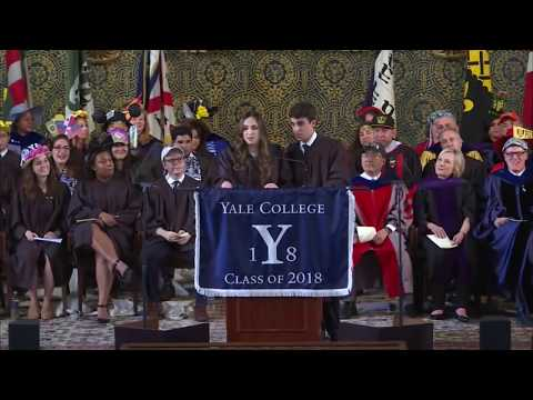 Yale Graduation Speaker Breaks Up with Boyfriend During Speech | Rebecca Shaw and Ben Kronengold