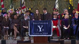 Yale Graduation Speaker Breaks Up with Boyfriend During Speech | Rebecca Shaw and Ben Kronengold thumbnail