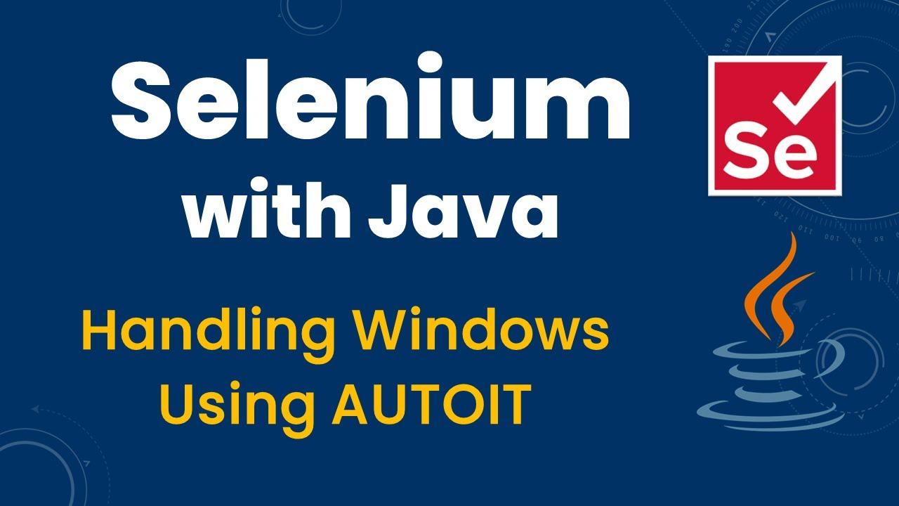 How To Upload Files Using AutoIT in Selenium ~ SDET