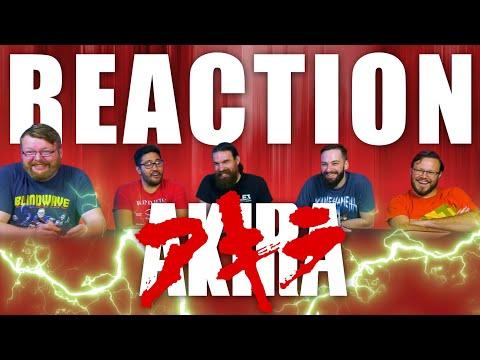 Akira (1988) MOVIE REACTION!! [2001 English Dub]