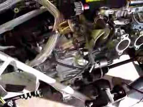 Blacktop 20v Toyota engine installed in La Bala