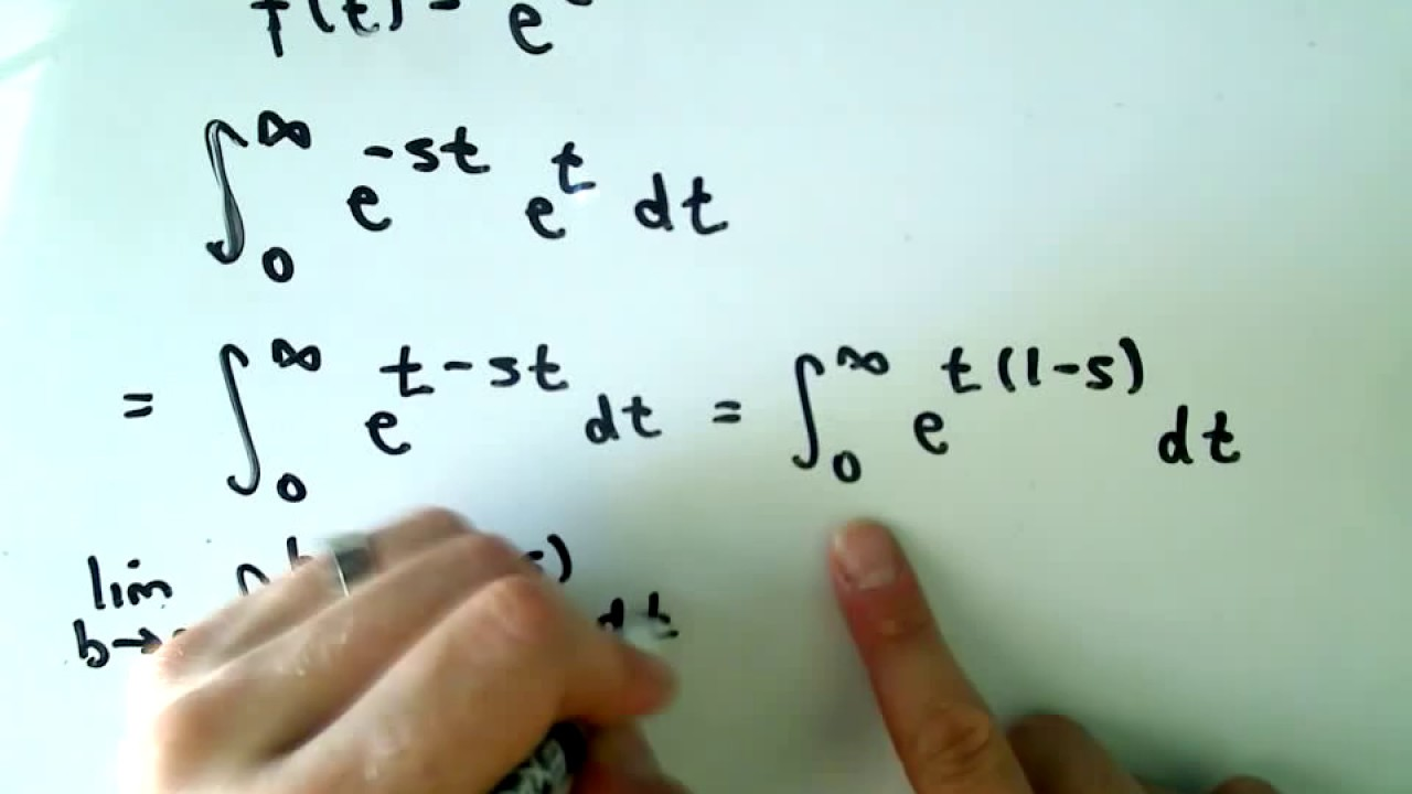 Calculating a Laplace Transform