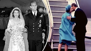 Expert claims: The Queen and Philip's wedding day body language is 'shocking'