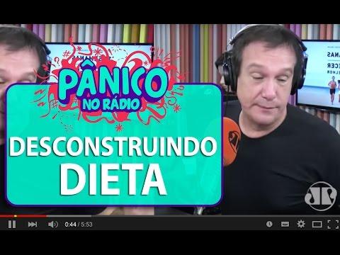 Emílio desconstrói a dieta alimentar | Pânico