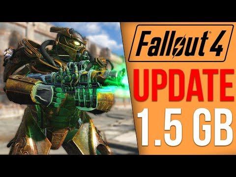 Fallout 4 Got a 1.5GB Update