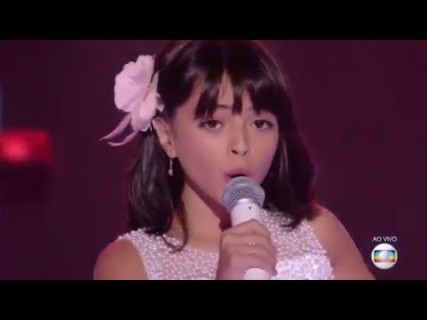 Iris Pereira canta 'Não é proibido' no The Voice Kids - Semifinal   The Voice Kids