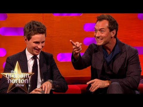 Jude Law Knows Some Real Dumbledore Secrets  The Graham Norton