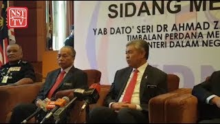 No suspension for Wan Ahmad Najmuddin: DPM