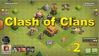 Clash of Clans - Working on Defenses (Galaxy S7)