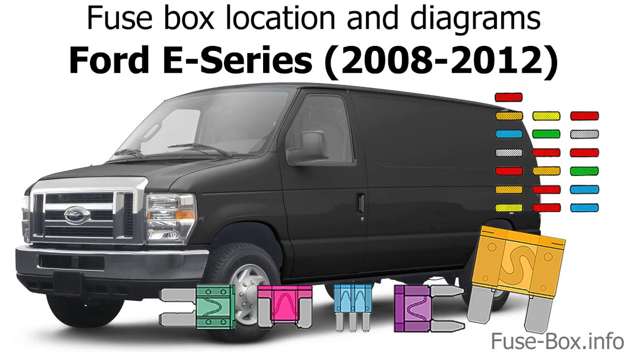 medium resolution of fuse box location and diagrams ford e series 2009 2012