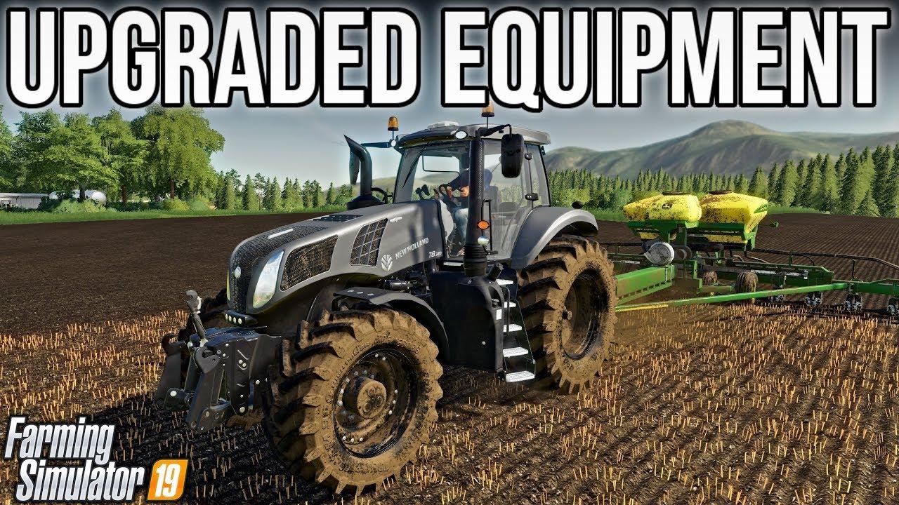 New Holland T8 & John Deere Planter! | New Woodshire | Farming Simulator 19