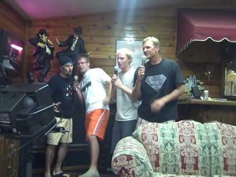Footloose...Graystone staff singing karaoke at staff retreat