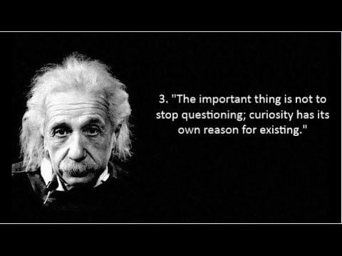 30 Famous Albert Einstein Quotes The Most Intelligent Person Youtube