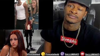SoLLUMINATI Reacts to Bhad Bhabie vs Woah Vicky (Fight)