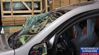 Kicking Out A Windshield