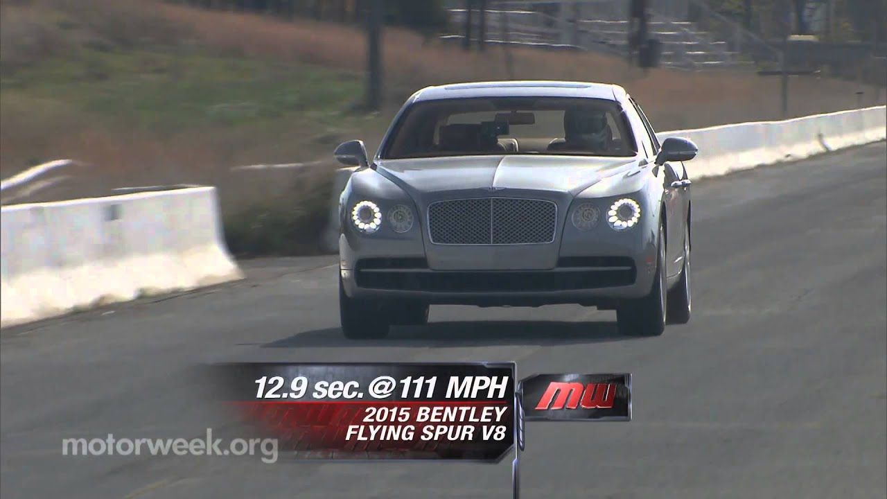 MotorWeek | Road Test: 2015 Bentley Flying Spur V8 - YouTube