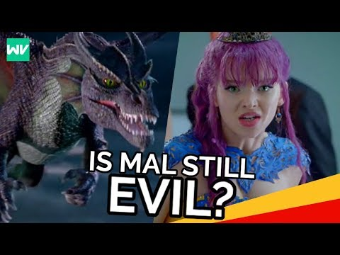 Thumbnail: Why Did Mal Turn Into A Dragon?: Descendants 2 Theory