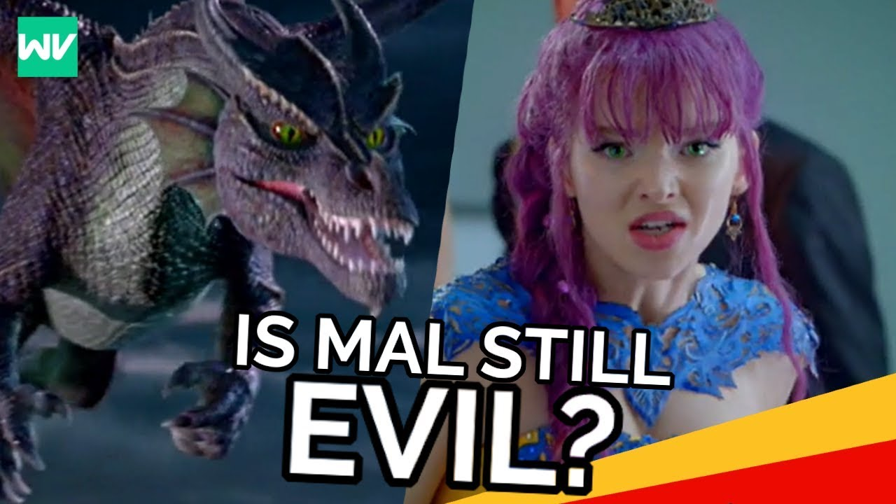 Why Did Mal Turn Into A Dragon?: Descendants 2 Theory