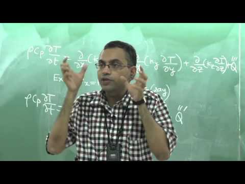 Lecture 04: Heat Conduction Equation and Different Types of Boundary Conditions