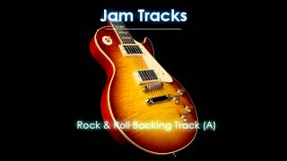 Rock & Roll Backing Track  - TheGuitarLab.net -