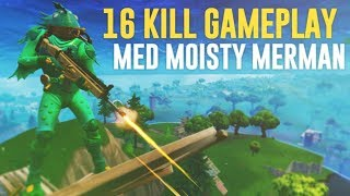 A REALLY AWESOME SOLO GAME WITH THE NEW SKINET! (MOISTY MERMAN)-FORTNITE IN ENGLISH