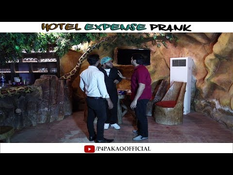   Hotel Expense Prank   By Nadir Ali & Ahmed In P4 Pakao 2019