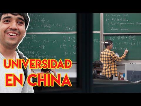 SER ESTUDIANTE UNIVERSITARIO En CHINA