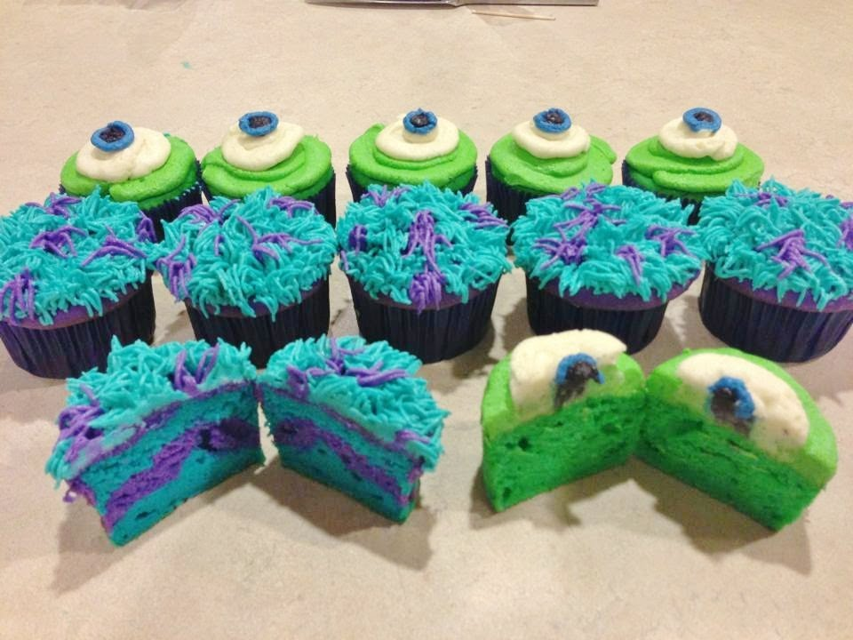 Monsters Inc Cake Decorations