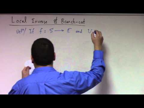 Complex Analysis: Lecture 3: branch cuts, complex exponential