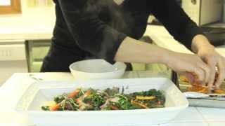 Easy Yet Amazing Kale And Butternut Squash Dish L Sanaacooks