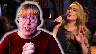 Vocal Coach Reacts to Adele Singing LIVE on SNL - Has her voice changed?