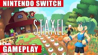 Staxel Nintendo Switch Gameplay