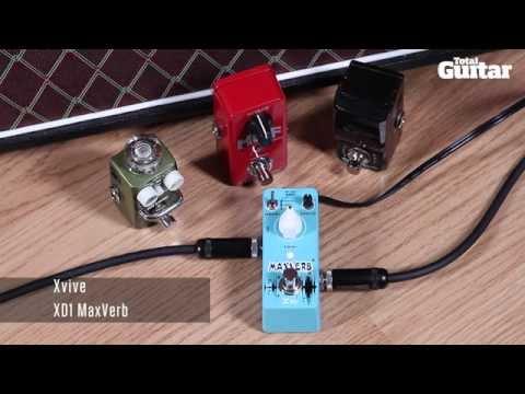 Mini Effects Pedal Shootout Demo: Reverb (Xvive, Hotone, Joyo, TC Electronic)