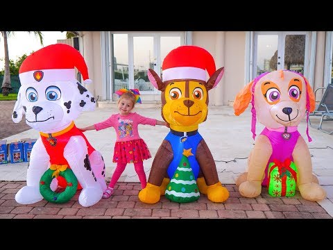 Happy New Year with Funny Stacy and Christmas Toys