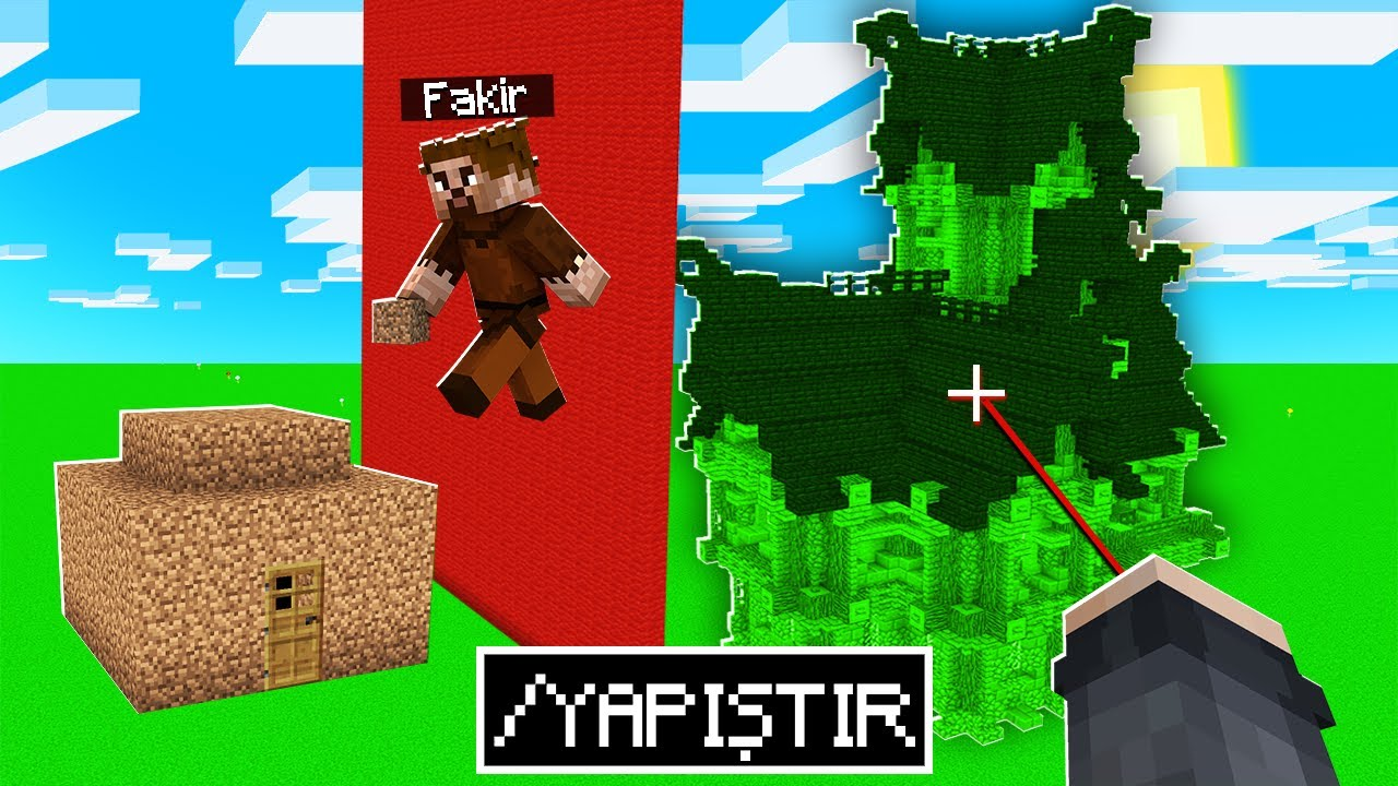 Download YAPI SAVAŞLARINDA HİLE YAPTIM 😱 - Minecraft