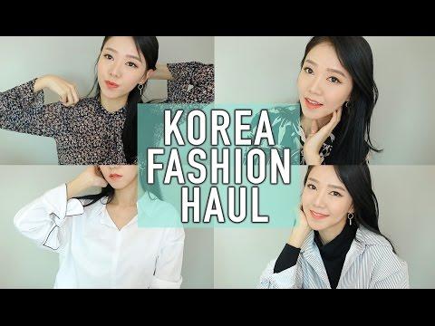 KOREA FASHION TRY ON HAUL ♥ | MIXXO BERSHKA ZARA | SPRING TRENDS