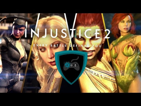 HERE COME THE GIRLS-CATWOMAN/CHEETAH/POISON IVY  INJUSTICE 2 TRAILER REACTION!
