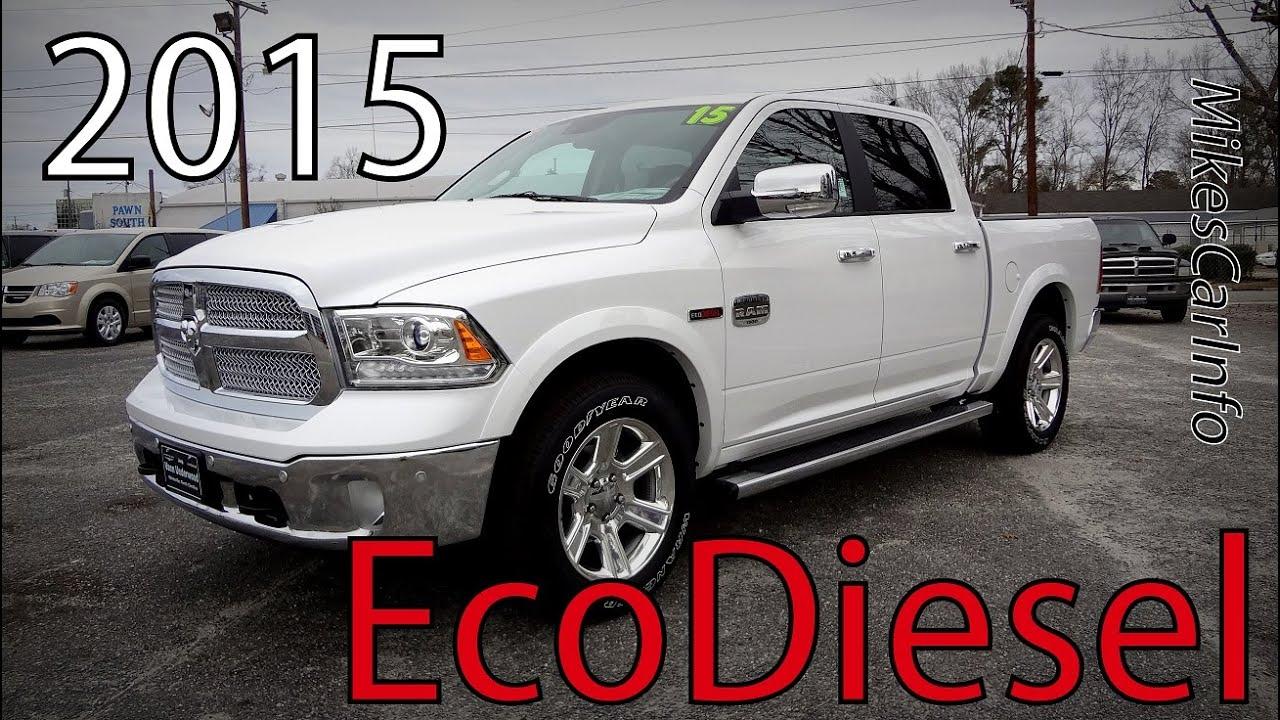 2015 Ram 1500 Longhorn Ecodiesel Youtube